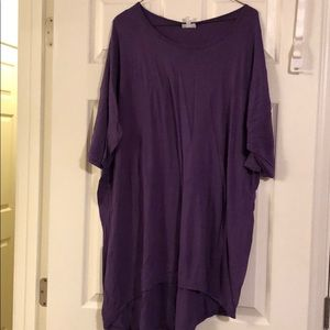 Lularoe Irma Top Purple Size 2XL